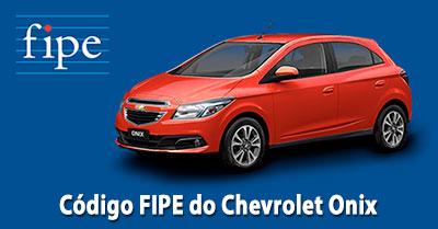 Como fazer a consulta do código FIPE do Chevrolet Onix