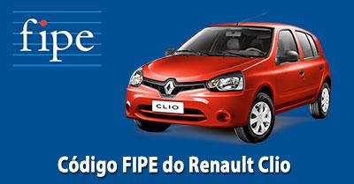 Como consultar o código FIPE do Renault Clio