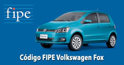 Código FIPE VW Fox